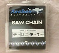 36 Chainsaw Chain 3/8 .063 115dl Chisel Replaces Stihl 75lgx115g & 36rsc-115