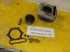 83 YAMAHA XT600 ENDURO TT600 84 85 86 87 cylinder piston rings jug barrel block