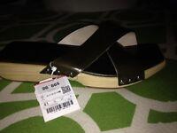 Zara Sandal Crossover Strap Sandal