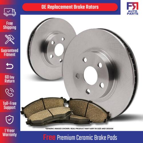 2 Brake Rotors 4lug Rear Kit 4 Ceramic Pads Fits: Forenza Reno High-End