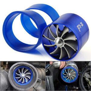 Universal-Fuel-Gas-Saver-Air-Filter-Intake-Single-Supercharger-Turbine-Turbo-Fan
