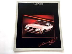 1984-Chevrolet-Chevy-Cavalier-20-page-Sales-Brochure-Catalog-Convertible