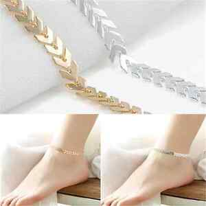 HOT-Women-Gold-Barefoot-Ankle-Chain-Anklet-Bracelet-Foot-Jewelry-Sandal-Beach