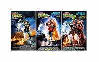 Back To The Future ( 11 X 17 ) Movie Collector's Poster Prints ( Set Of 3 )