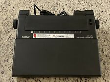 Brother Ax 25 Electric Typewriter Tested And Working