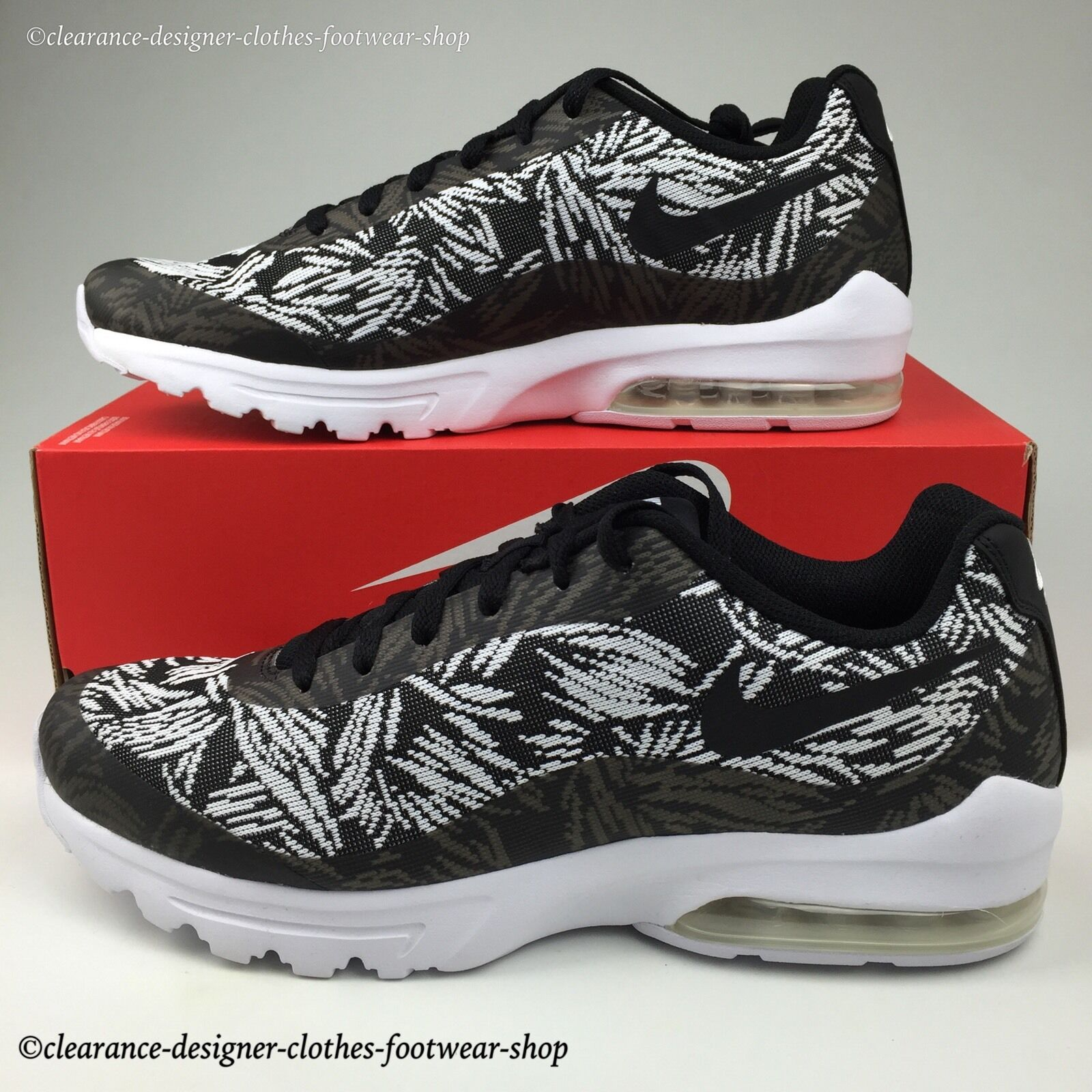 NIKE AIR MAX INVIGOR KJQRD TRAINERS MENS KNIT JACQUARD CASUAL schuhe