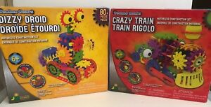 Techno-Gears-Crazy-Train-and-Dizzy-Droid-Construction-Set-2-Pack-Christmas-Gift