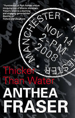 """""""VERY GOOD"""" Fraser, Anthea, Thicker Than Water, Book"""