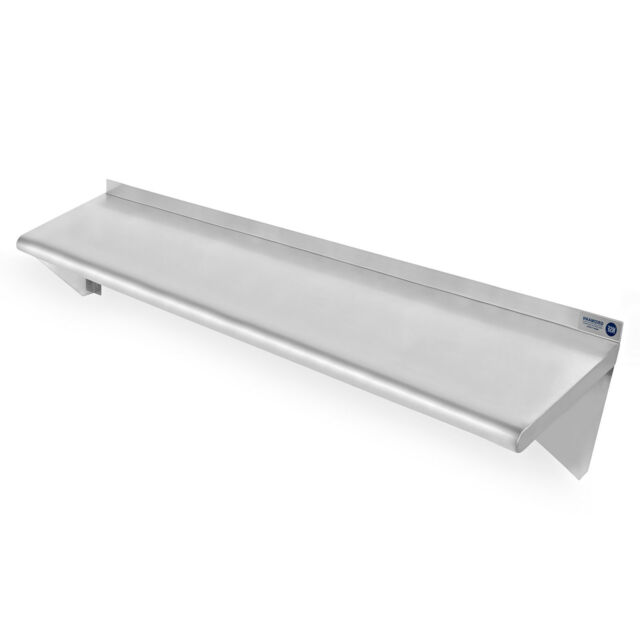 Commercial Kitchen Restaurant Stainless Steel Wall Shelf Shelves ...