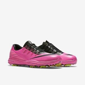 9cecd6be6f3 NIKE -819034-600 -LUNAR CONTROL 4 -Women s Golf Shoes -Pink Volt ...