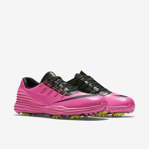 20a0bd2a8cac Nike Lunar Control 4 Womens Golf Shoes 6.5 Pink Black Volt 819034 600 for  sale online