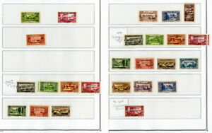 Lebanon-Stamps-28x-Early-mint-used-Error-amp-Var-all-1926