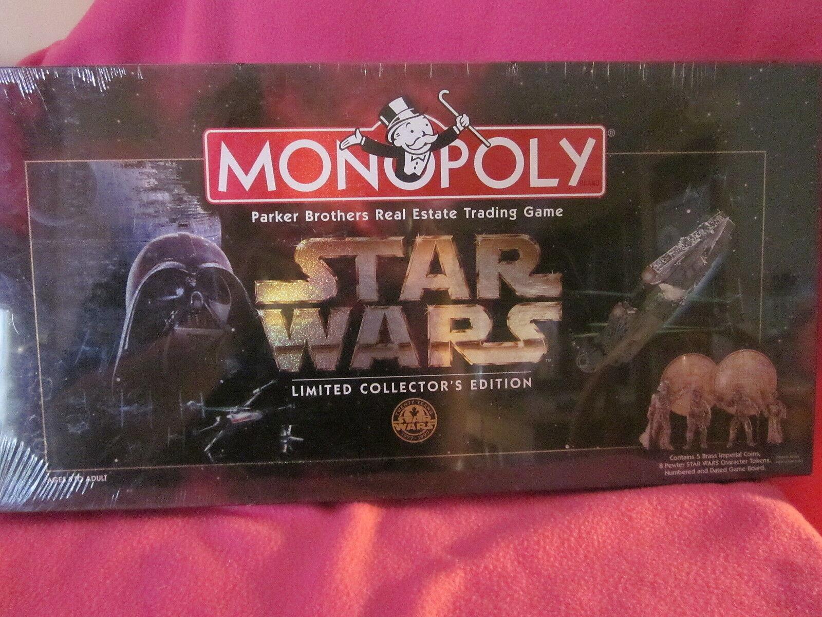 Monopoly Star Wars Limited Collector's Edition Numerati Gioco Tavola Sigillato