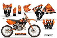 Ktm C3 Exc Mxc Graphics Kit Amr Racing Bike Decal Sticker Part 01-02 Reaper Or