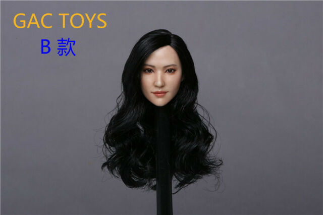 "GACTOYS  1:6 GC038A Asian Beauty Head Carved Fit 12/"" Female PH TBL Body"