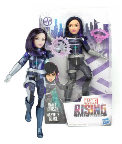 Marvel Rising Secret Warriors Daisy Johnson 11in Doll NIB Marvel/'s Quake