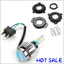 4000LM 34W H6 H4 Hi/Lo LED Motorcycle Headlight Bulb moto Fog Lamp BA20D 6500K