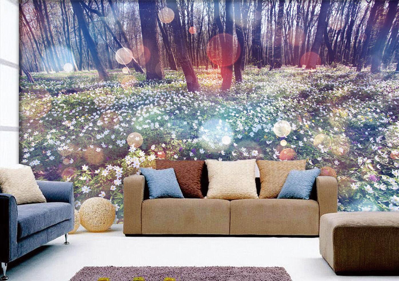 3D Fantastic woods  Wall Paper Print Wall Decal Deco Indoor Wall Murals
