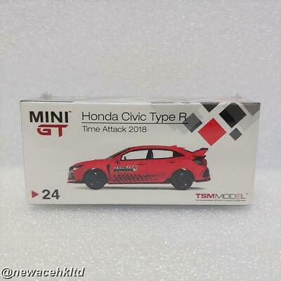 Mini GT New DIECAST Toys CAR 1:64 MIJO 2017 Civic Type R RED MIJO Exclusives MGT00024-MJ TIME Attack Challenge FK8