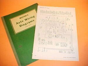 1957 1958 1959 1960 pontiac bonneville catalina chieftain safari wiring  diagrams | ebay  ebay