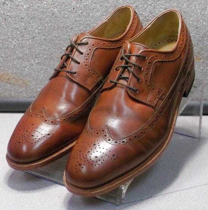 2491000 PF50 Men's shoes Size 13 M Dark Tan Leather Lace Up Johnston & Murphy