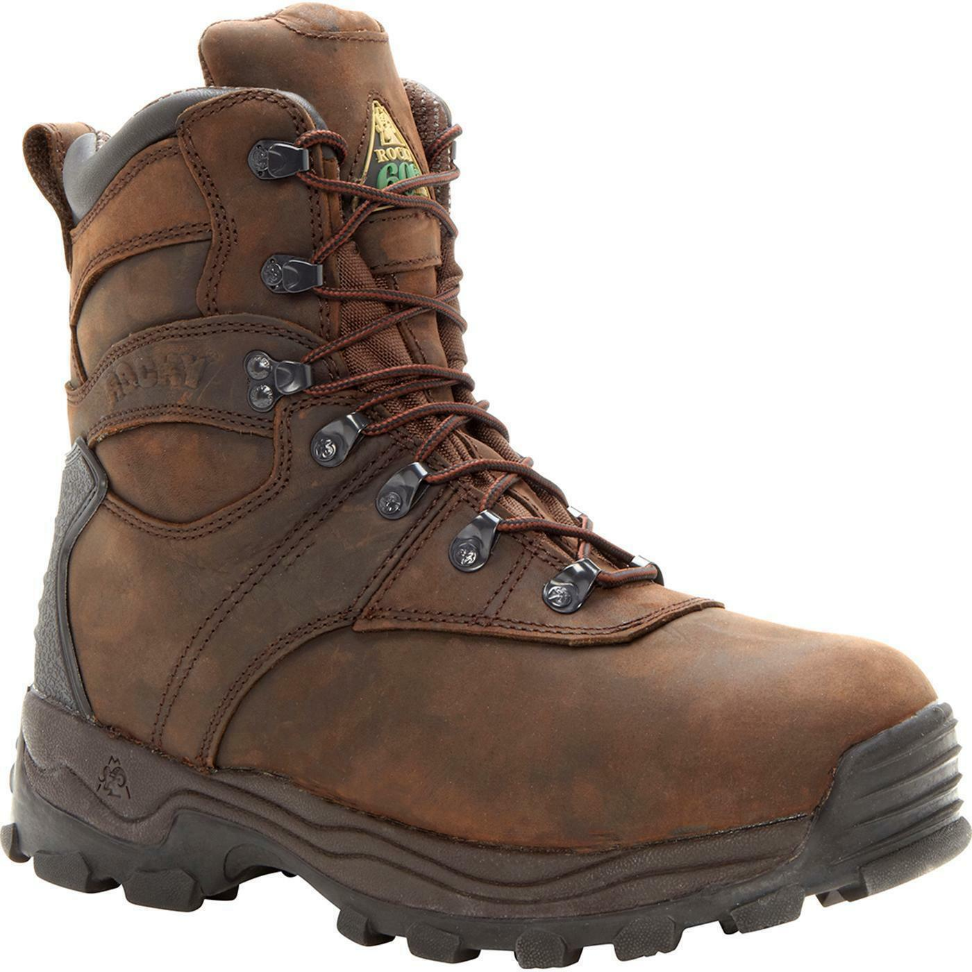 Rocky 7480 Sport Utility Pro 600g Insulated Lace Up Waterproof 6  Work Boot