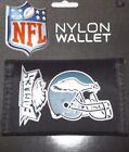 NFL Printed Tri-Fold Nylon Wallet RICO -Select- Team Below