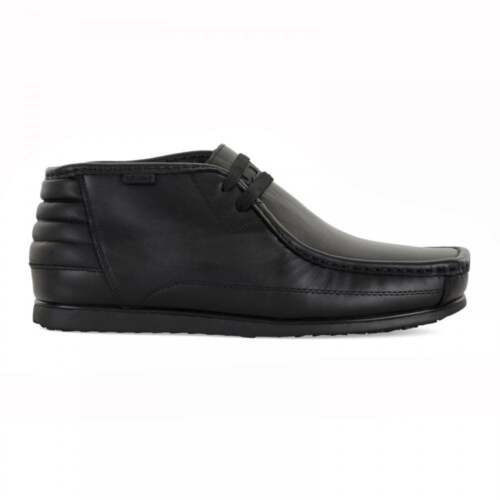 Nicholas Deakins Marshal Leather Black (n91) Mens Midi Boots All Sizes