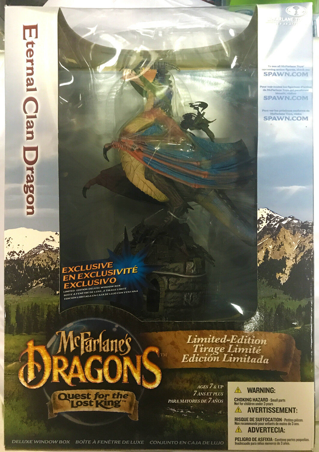 McFarlane Toys Dragons  Eternal Clan Dragon Boxed Limited Edition Action Figure