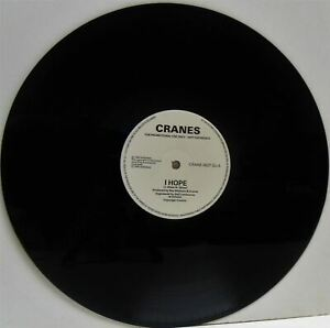 CRANES espero 12 INCH EX, CRANE 002T DJ, vinyl, single, promo, uk, 1990, rock,