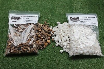 Pebbles And White Stones Scenic Scatter Twin 200g  Packs -Warhammer Modelling