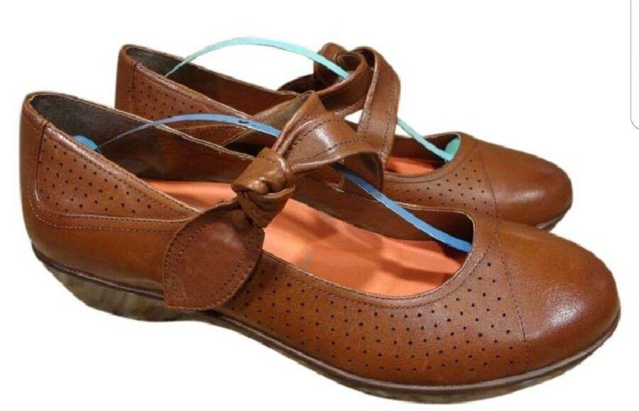 DANSKO Damenschuhe GALS 10/EUR LADIES Schuhe SIZE US 10/EUR GALS 40 BROWN LEATHER MARY JANES MINT 980f6e