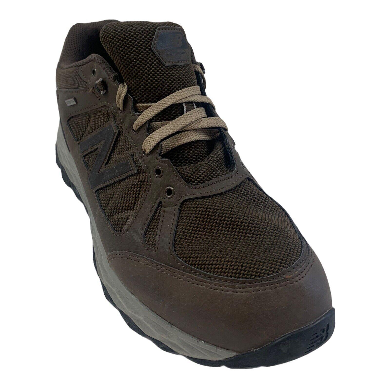 New Balance 1350 Brown Low Top Hiking Walking MW1350WC Men's Size 14 4E