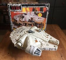 Vintage Star Wars Millennium Falcon Boxed Working Motor 100% Complete Stunning