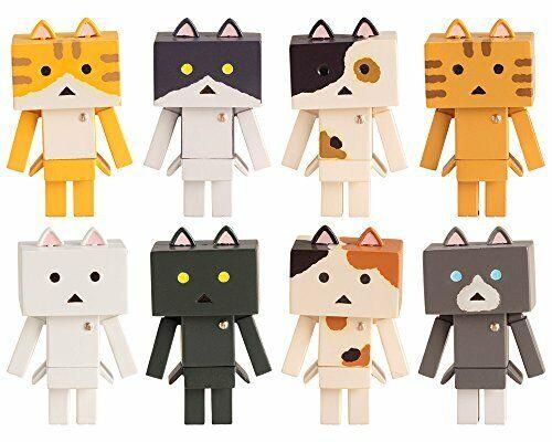 Kotobukiya nyanboard nyano PVC Trading Figure 10 Pcs BOX Set JP