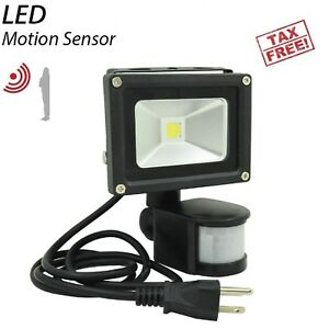 Image is loading Motion-Sensor-Flood-Light-Waterproof-Security-Safety-LED-  sc 1 st  eBay & Motion Sensor Flood Light Waterproof Security Safety LED Lights ...