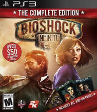 BIOSHOCK INFINITE COMPLETE EDITION PS3 NEW! RAPTURE, WEAPONS, COMBAT, KILL