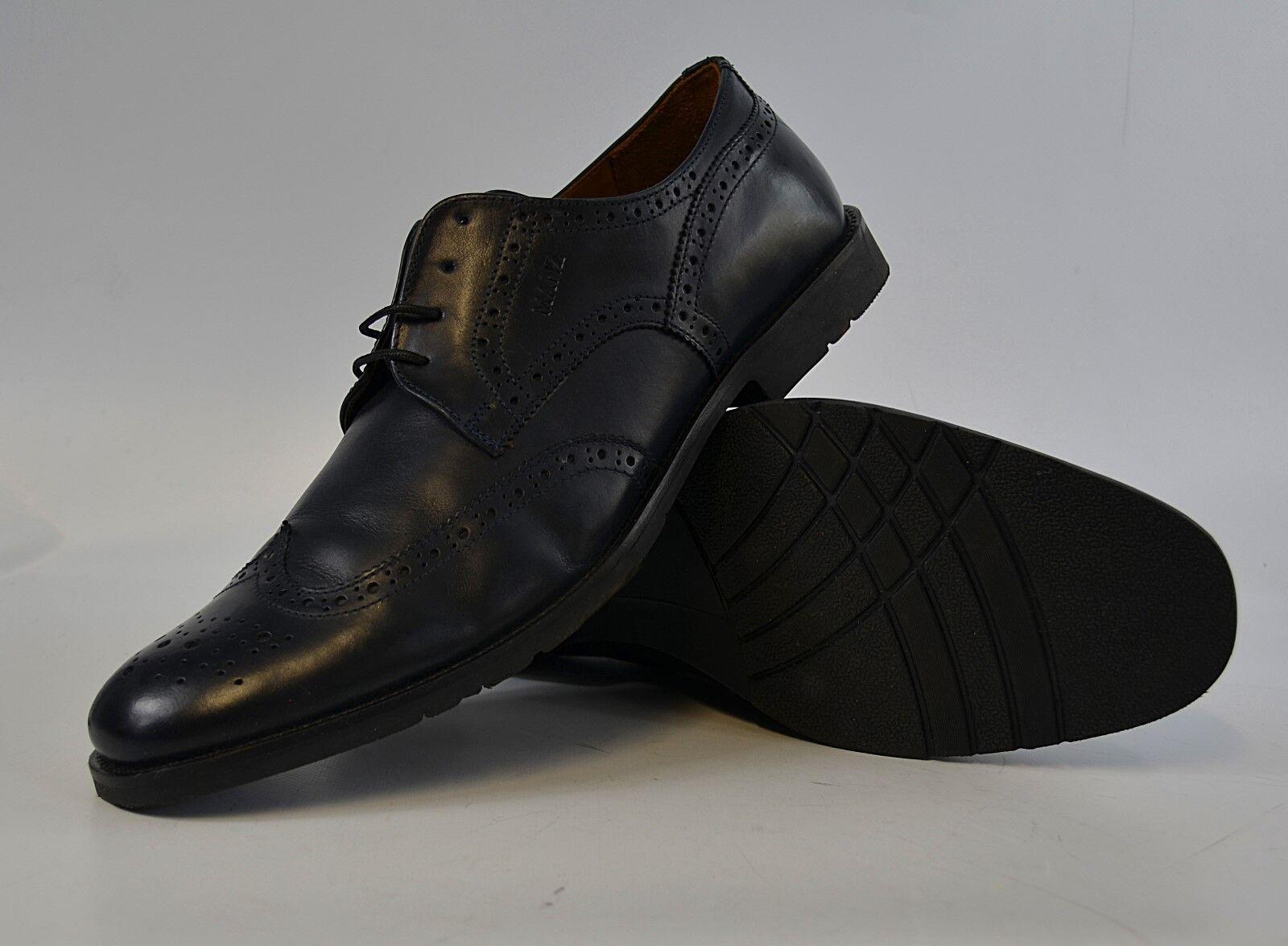 Manz schnürschuhe talla 11 46 cuero, Business zapatos, zapatos caballero 2/18 m2 r8