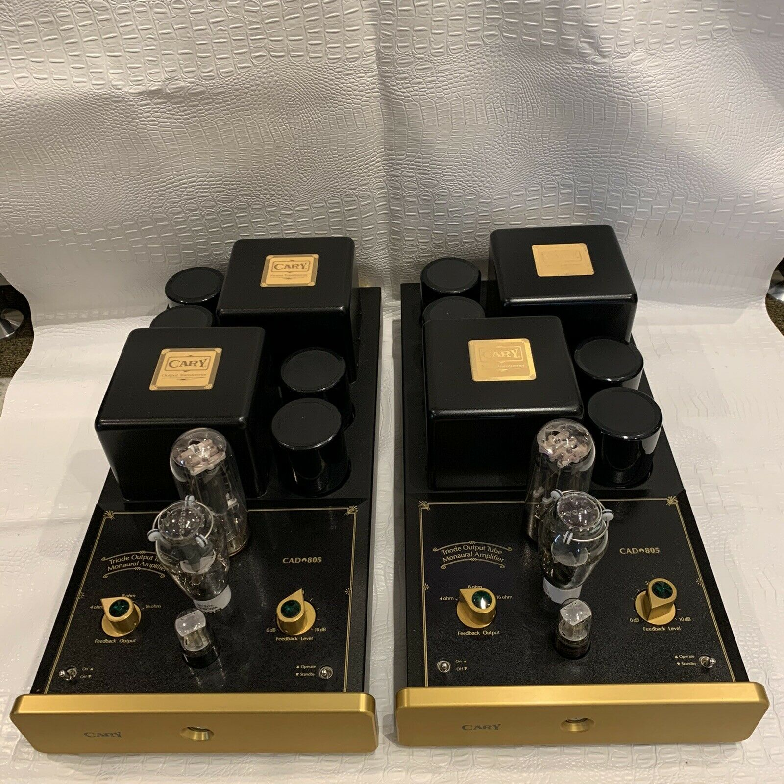 Pair Cary Audio CAD 805 With 845, 300B, 6sn7  Tube Monoblocks,One Owner With Box. Buy it now for 3795.00