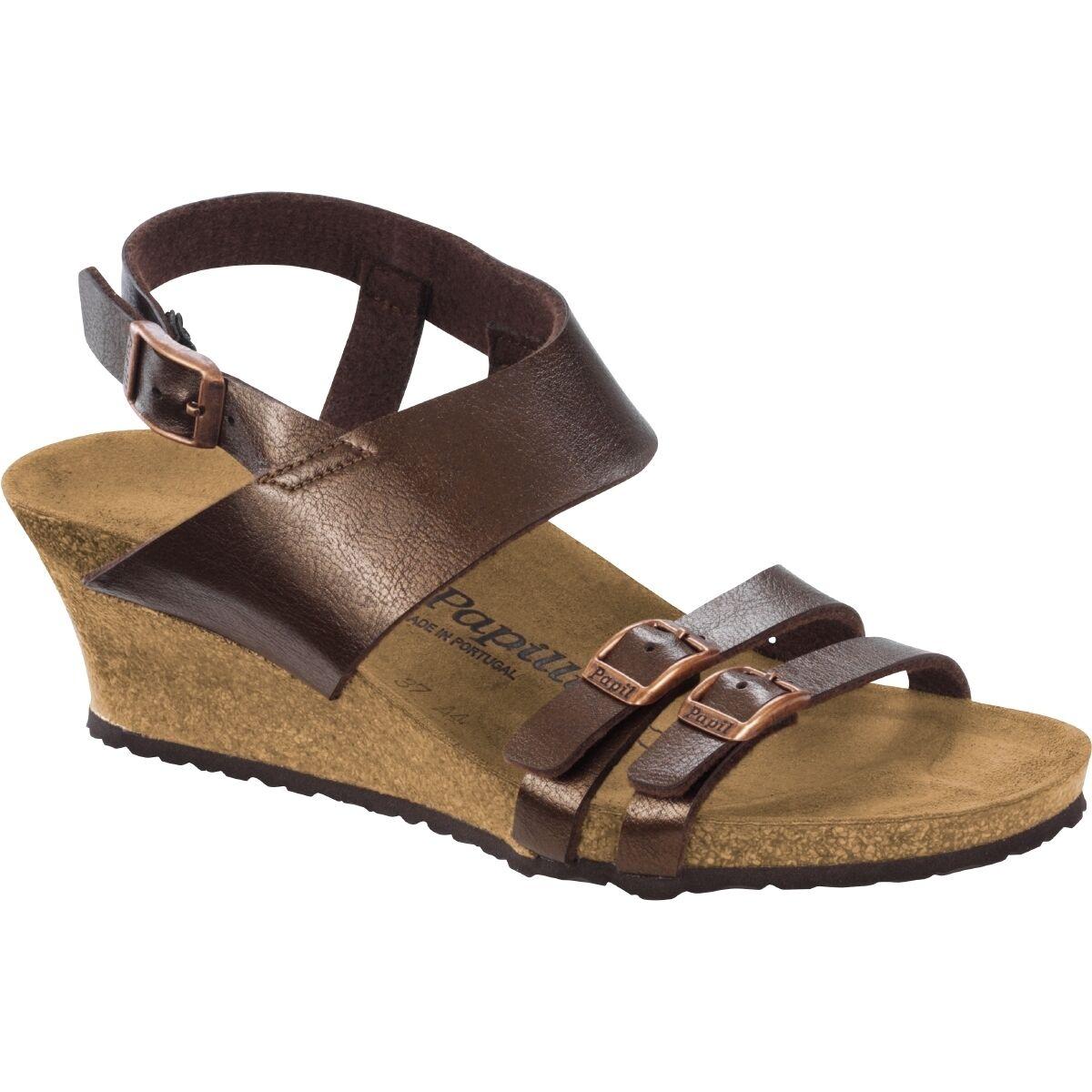 Birkenstock Papillio Ellen Birko-flor zapatos cuña sandalia ancho 1005067 estrecho