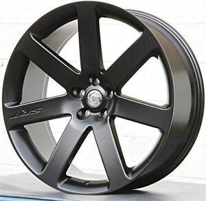22 inch chrysler 300c srt style black rims 5x115 300c wheels 4 sale like oem ebay. Black Bedroom Furniture Sets. Home Design Ideas