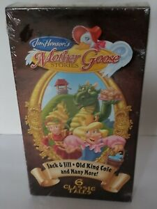 Jim-Hensons-Mother-Goose-Stories-Old-King-Cole-Jack-and-Jill-VHS-2004-6-Tales