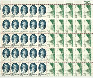 US-SCOTT-1732-1733-SHEET-OF-50-Stamps-x-13-CENTS-CAPTAIN-JAMES-COOK-1978-MNH