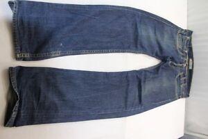 H6978 0001 Levi's Bleu L34 504 Straight Jeans Bon foncᄄᆭ W34 354AjLR