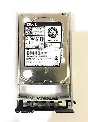 "Dell 300GB 12G SAS 15K 2.5/""  0RVDT 00RVDT HDD Hard Drive w// Tray"