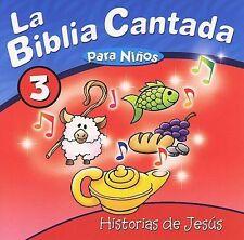 La Biblia Cantada Biblia Cantada: Historias De Jesus CD