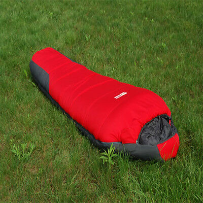 Useful Camping Hiking Outdoor Sleeping Bag 210T -20 C Degree -4F Cold Weather