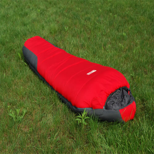 Sleeping Bag 210T -20C Degree -4F Cold Weather Useful Camping Hiking Outdoor Red