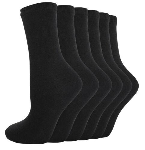 Boys Girls Plain Ankle Every School Socks