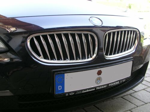 Passend für BMW E85 E86 Z4  02-09 GANZ CHROM NIEREN GRILL KÜHLERGRILL
